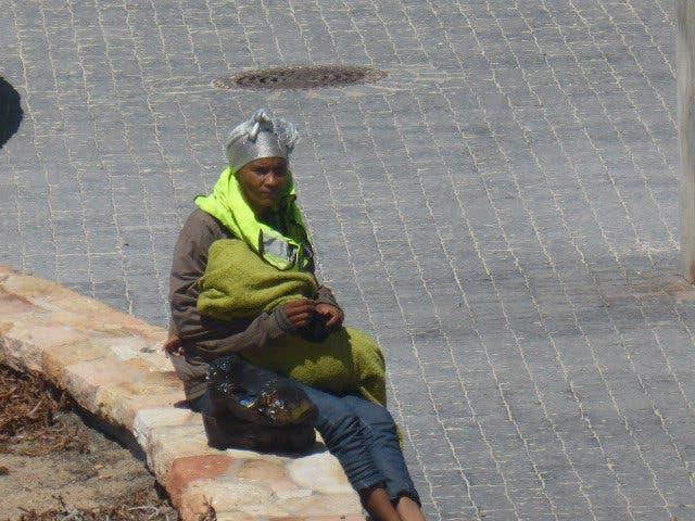 Parkwächterin Baby Muizenberg