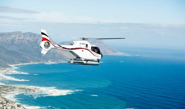 Cape Town Helicopters Flug Weinland 1
