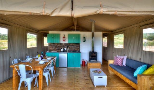 Luxus Campig in Südafrika