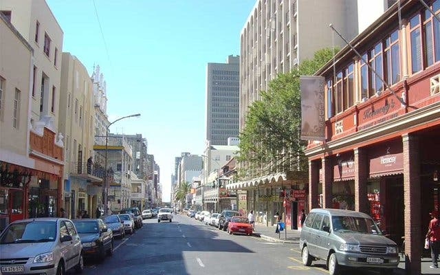 Long street Cape Town City Center