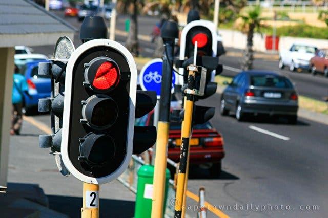 Ampeln, Robots Südafrika