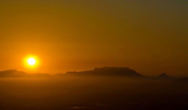 Sonenuntergang Kapstadt