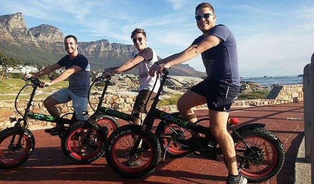 GONOW Elektro Fahrrad Kapstadt