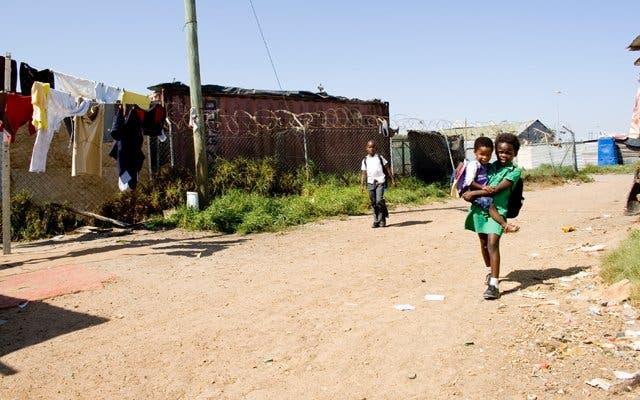 Township Südafrika