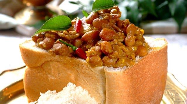 Bunny Chow südafrikanisches Essen