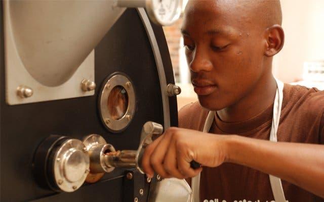 kaffee trinken in Kapstadt