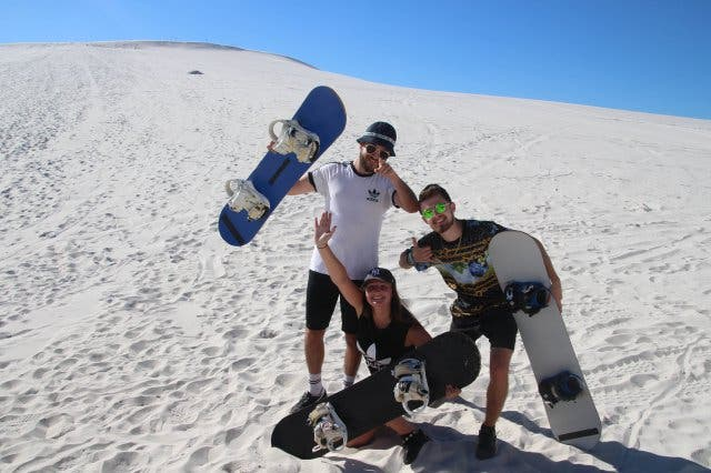 Sandboarding Crew