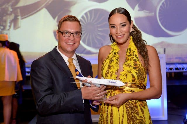 Lufthansa Group Dr. Andre Schulz und Jo Ann Strauss