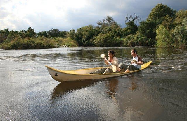 Kanu fahren Breede River