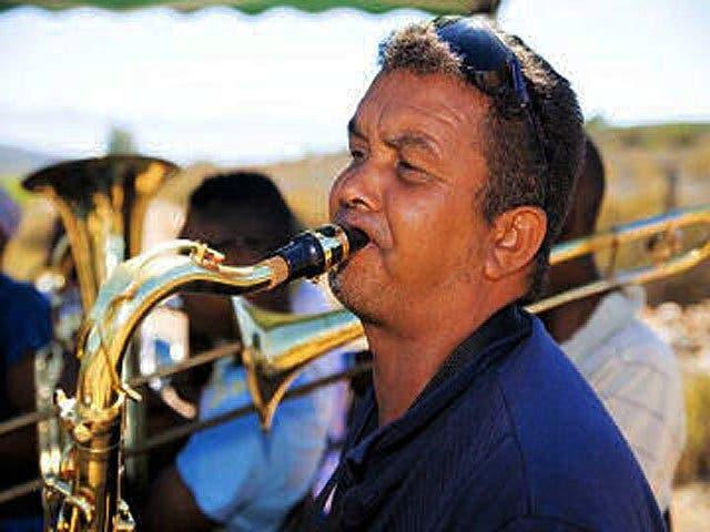 Saxophonist Kapstadt