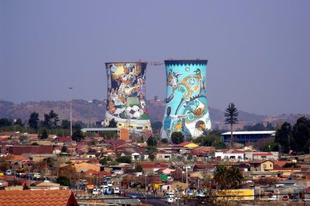 Johannesburg ist die größte Stadt Südafrikas