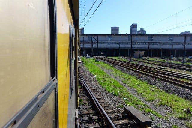 Zug Kapstadt Metrorail