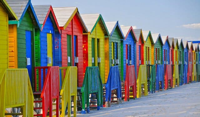 Muizenberg Beach Kapstadt