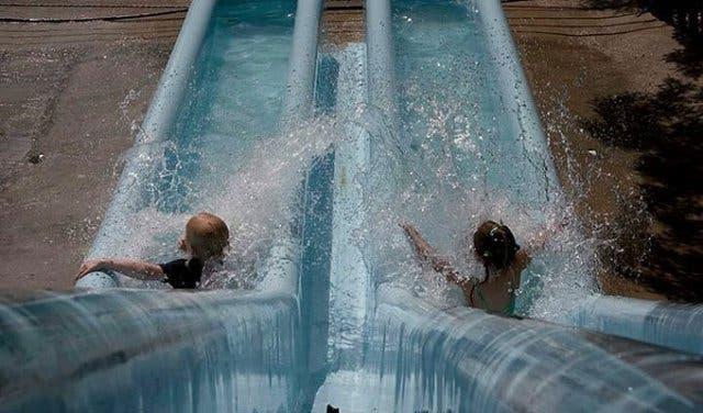 Waterworld mit Kindern in Kapstadt