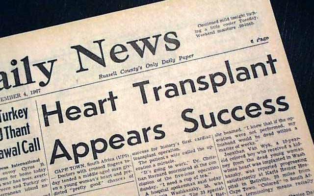 Herztransplantation Kapstadt
