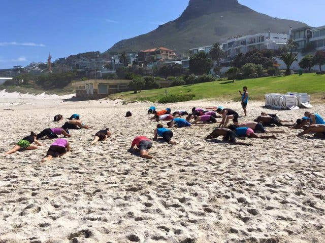 Free Fitness Ignite Beach Burn