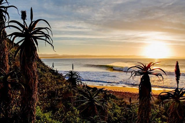 Jeffreys Bay, Surfen an der Garden Route