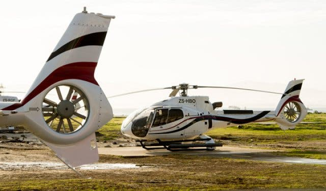 Cape Town Helicopters Flug Weinland