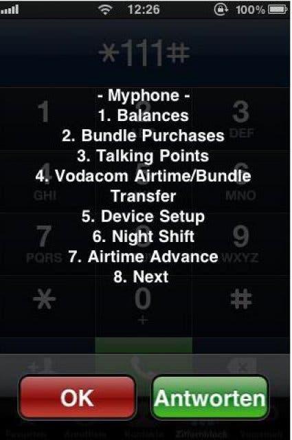 Mit dem Iphone in Südafrika ins Internet