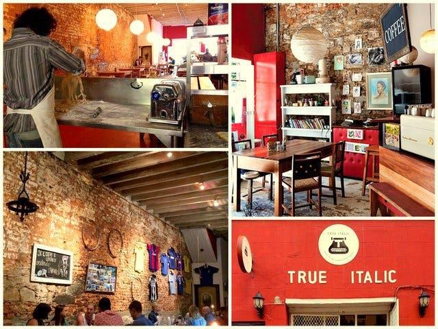 True Italic restaurant Kapstadt bree street