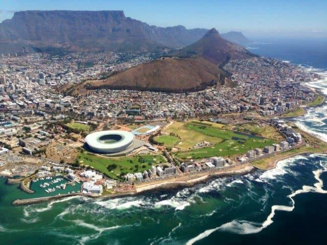 Rundflug über Kapstadt