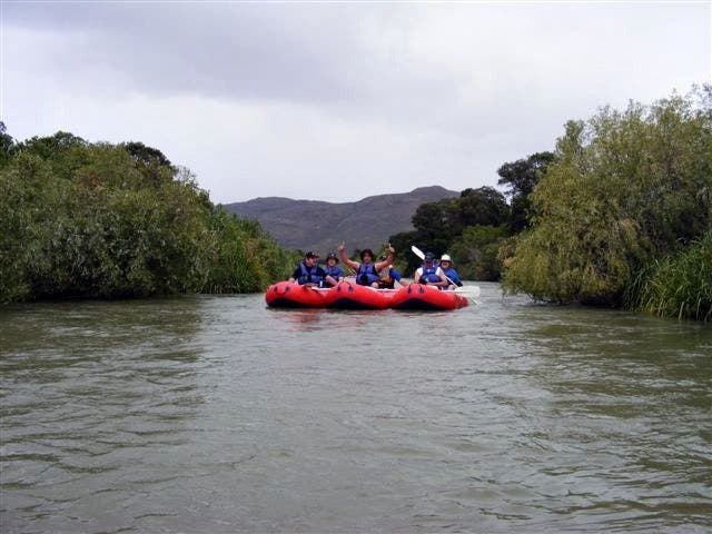 Riverrafting in Südafrika
