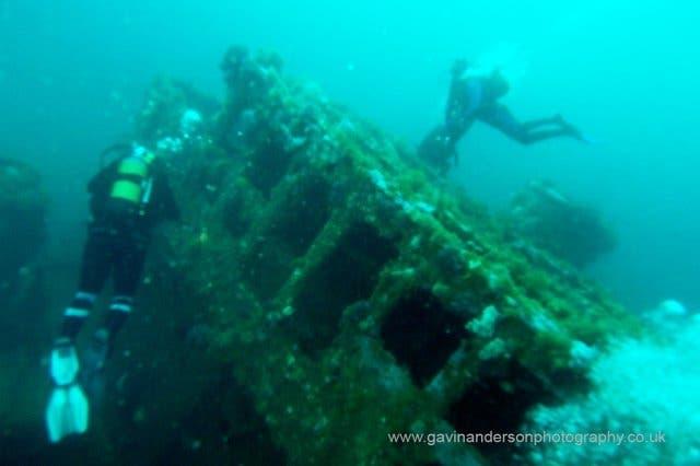 Scuba Diving Wracktauchen Kapstadt
