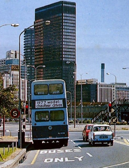 Kapstadt stadtzentrum 1970
