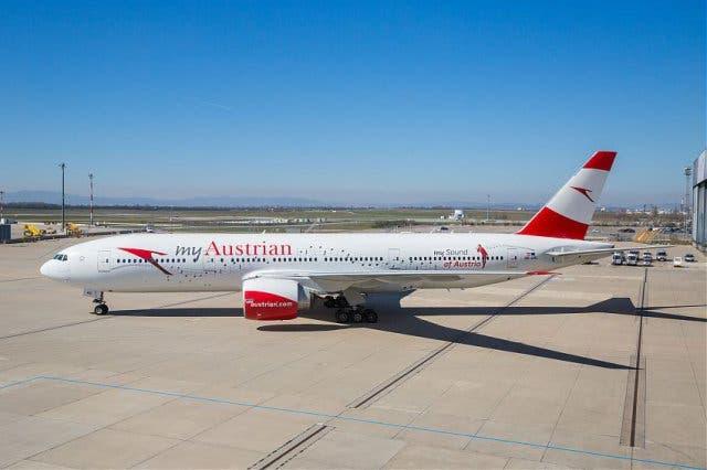 von Wien nach Kapstadt Austrian Airline