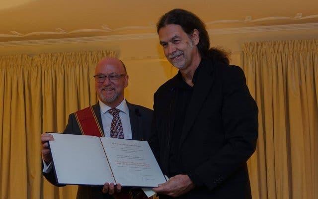 Bundesverdienstkreuz an Derek Hanekom