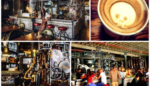 Truth Coffee Steampunk