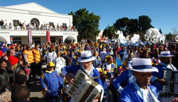 Kaapse Klopse Coon Karneval Kapstadt