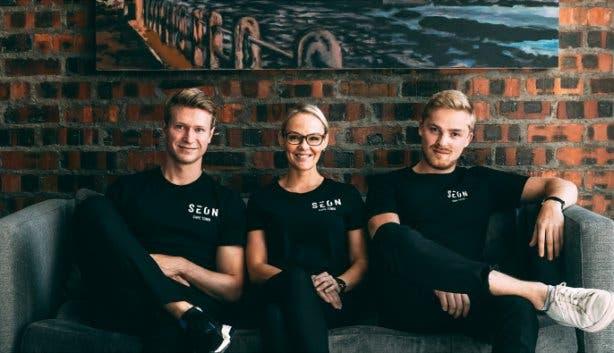 Finn Plotz und Team
