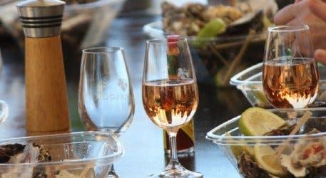 Austern und Champagner